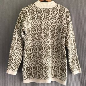 VTG Country Classics chunky knit sweater mock neck